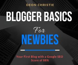 Blogger basics